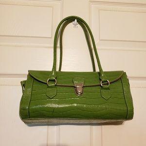 Handbags - Lime Green Satchel Purse